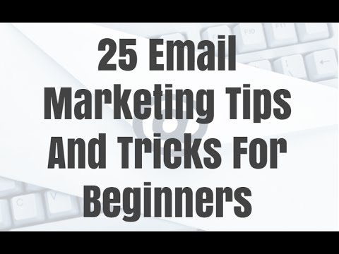 25 Email Marketing Tips And Tricks For 2016