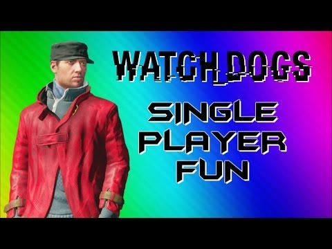 Watch Dogs Funny Moments – Photobomb, Big Car Explosion, Glitchy Body (Single Player Gameplay)
