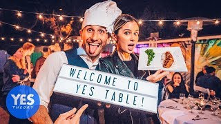 Video Turning our Backyard into the #1 Restaurant in Los Angeles!! (Rated 5-Stars on Google) MP3, 3GP, MP4, WEBM, AVI, FLV Januari 2019