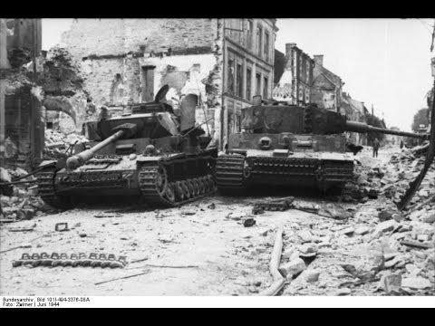 Wielkie bitwy pancerne II wojny światowej. Niemiecki odwrót.