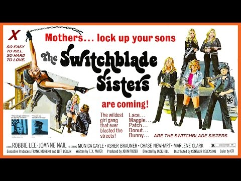 The Switchblade Sisters (1975) Trailer - Color / 3:01 mins