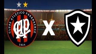 Atlético-PR x Botafogo ao vivo - Narração + Parciais Cartola FC