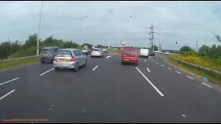 Reading United Kingdom  City new picture : S1WHW Near Miss. Road Rage. Reading Uk White Van Man Lol !!!