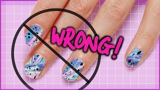 Video 10 Things You're Doing WRONG: The ULTIMATE Nail Art Guide MP3, 3GP, MP4, WEBM, AVI, FLV Agustus 2019