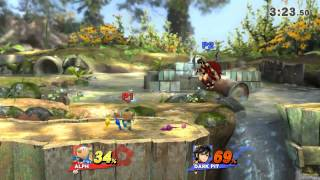 Super smash bros wii u ALPH gameplay can you give me tips