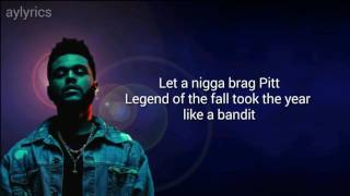Video Starboy - The Weeknd (lyrics) MP3, 3GP, MP4, WEBM, AVI, FLV Desember 2017