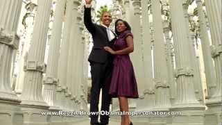 Reggie Brown The World's Best Obama Impersonator -Obama Gangnam Style!
