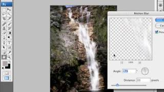 How to Smoothen Waterfall Photos