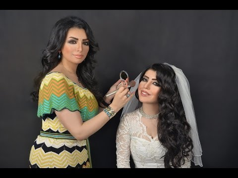Nadiya Al Shatti tutorial 5 (Bridal Make up (видео)