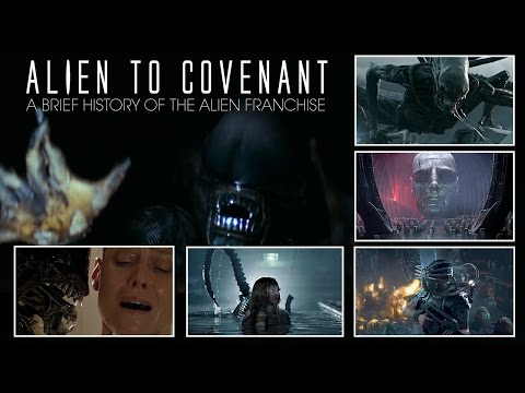 Alien to Covenant  A Brief History Of The Alien