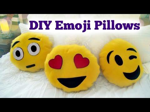 feltro - simpatici cuscini a forma di emoticon