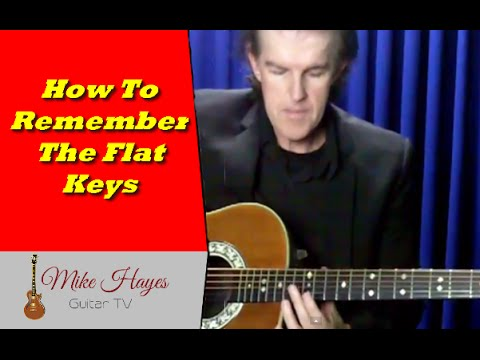 Learn Guitar: How To Learn and Remember The Flat Keys On Guitar
