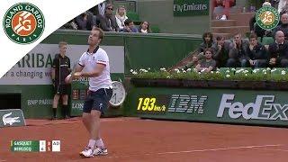 Tennis Highlights, Video - [HD]R. Gasquet v. C. Berlocq 2015 French Open Men's R64 Highlights