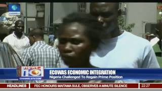 ECOWAS : Nigeria Challenged To Regain Prime Position