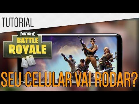 Tudocelular - Fortnite Mobile  SEU CELULAR VAI RODAR? Saiba!