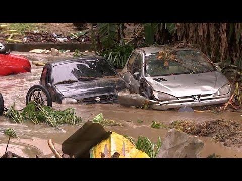 Φονικές πλημμύρες στη Βραζιλία