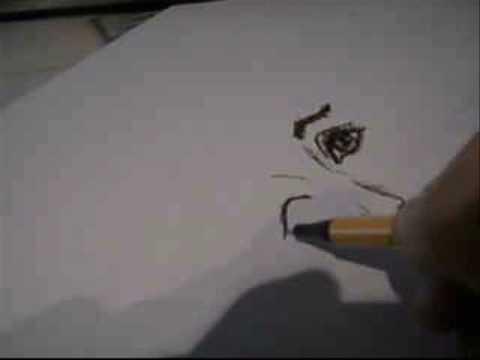 Zeichnung Gesicht einer Frau/ Gesichter Zeichen