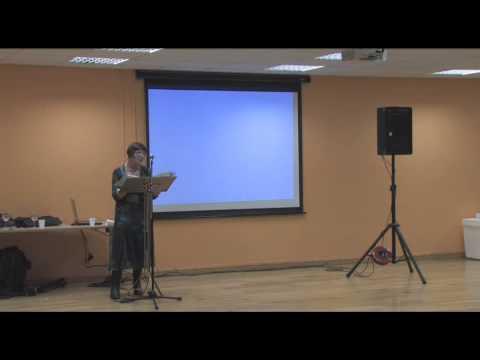 Speaking at 'Newgrange' book launch video clip
