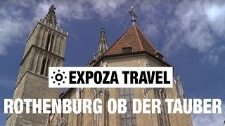 Rothenburg Ob Der Tauber Germany  city photos : Rothenburg ob der Tauber (Germany) Vacation Travel Video Guide