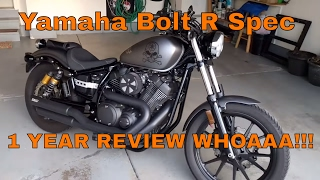 2. Yamaha Bolt R Spec 1 YEAR REVIEW!!!! WHOA