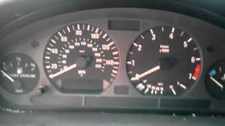 E36 airbag valon nollaus