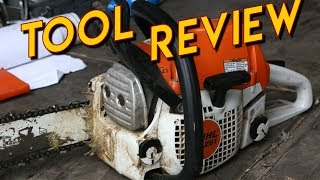 2. Stihl MS251 Chainsaw Review