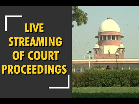 Video Supreme Court allows live streaming of court proceedings download in MP3, 3GP, MP4, WEBM, AVI, FLV January 2017