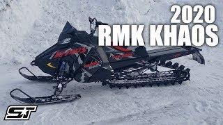 9. 2020 Polaris RMK KHAOS 155 Walk Around & First Impressions