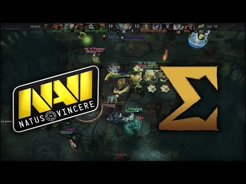 Na'Vi vs Sigma Teamwipe | Dota 2 Champions League