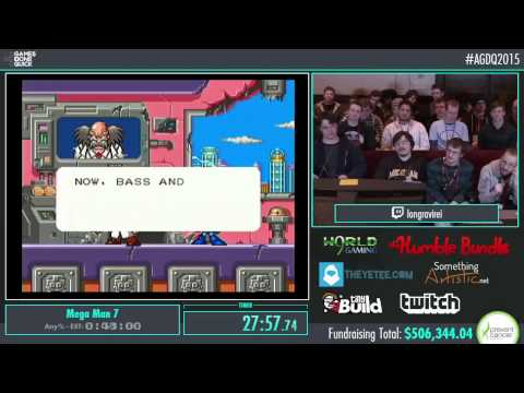 Awesome Games Done Quick 2015 - Part 104 - Mega Man 7 by iongravirei