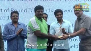 Arun Vijay and KS Ravikumar at Top Gun Golf Classic 2015