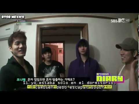 [SUB ESP]BTOB B+ Diary [EP 4] [1/2] (видео)