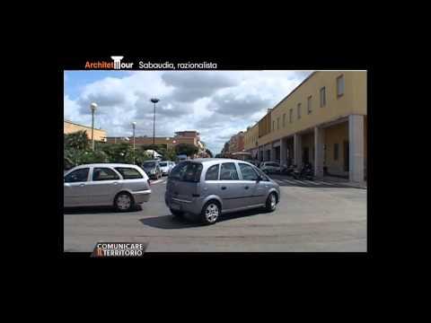 ArchitetTOUR - Puntata 5 - Sabaudia città Razionalista. Polselli - Trabucco