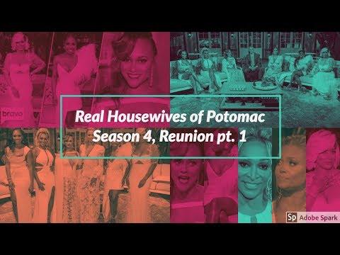 Real Housewives of Potomac | Season 4, Ep. 19 | Reunion pt. 1