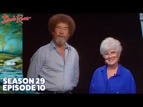 Bob Ross - Pot O' Posies (Season 29 Episode 10)