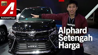 Video Toyota Voxy 2017 First Impression Review GIIAS 2017 MP3, 3GP, MP4, WEBM, AVI, FLV Oktober 2017