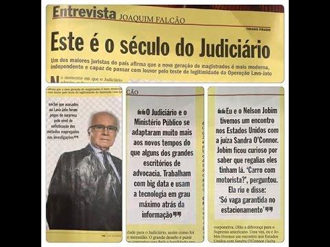 """Das páginas amarelas da Veja para a TVFAP.net: o jurista Joaquim Falcão e o lançamento do livro """"Reforma Eleitoral no Brasil"""""""