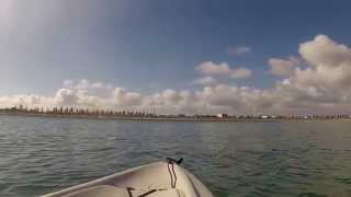 North Haven Australia  city pictures gallery : North Haven, South Australia- Hobie kayak fishing from beach