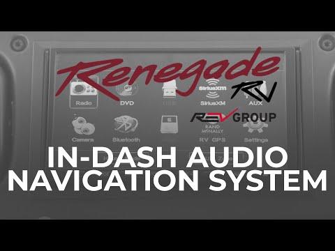 In Dash Audio Navigation System