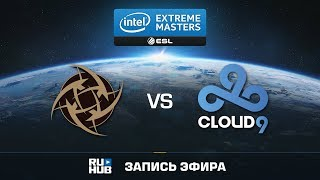 NiP vs Cloud9 - IEM Oakland 2017 - de_overpass [Crystalmay, sleepsomewhile]