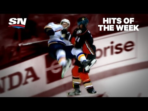 Video: Hits of the Week: Beware centre ice