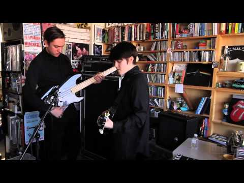 tiny desk concert - It's easy to think of The xx as a fashionable band: Its members have a sleek all-in-black look, its typography and cover art is coolly and distinctively styl...
