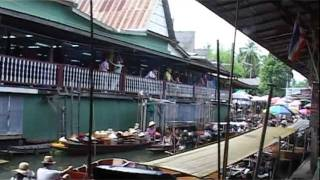 Trip To Bangkok's Floating Market | TravelLog