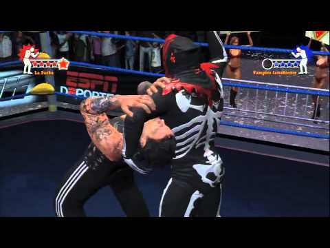 lucha libre aaa heroes of the ring psp iso