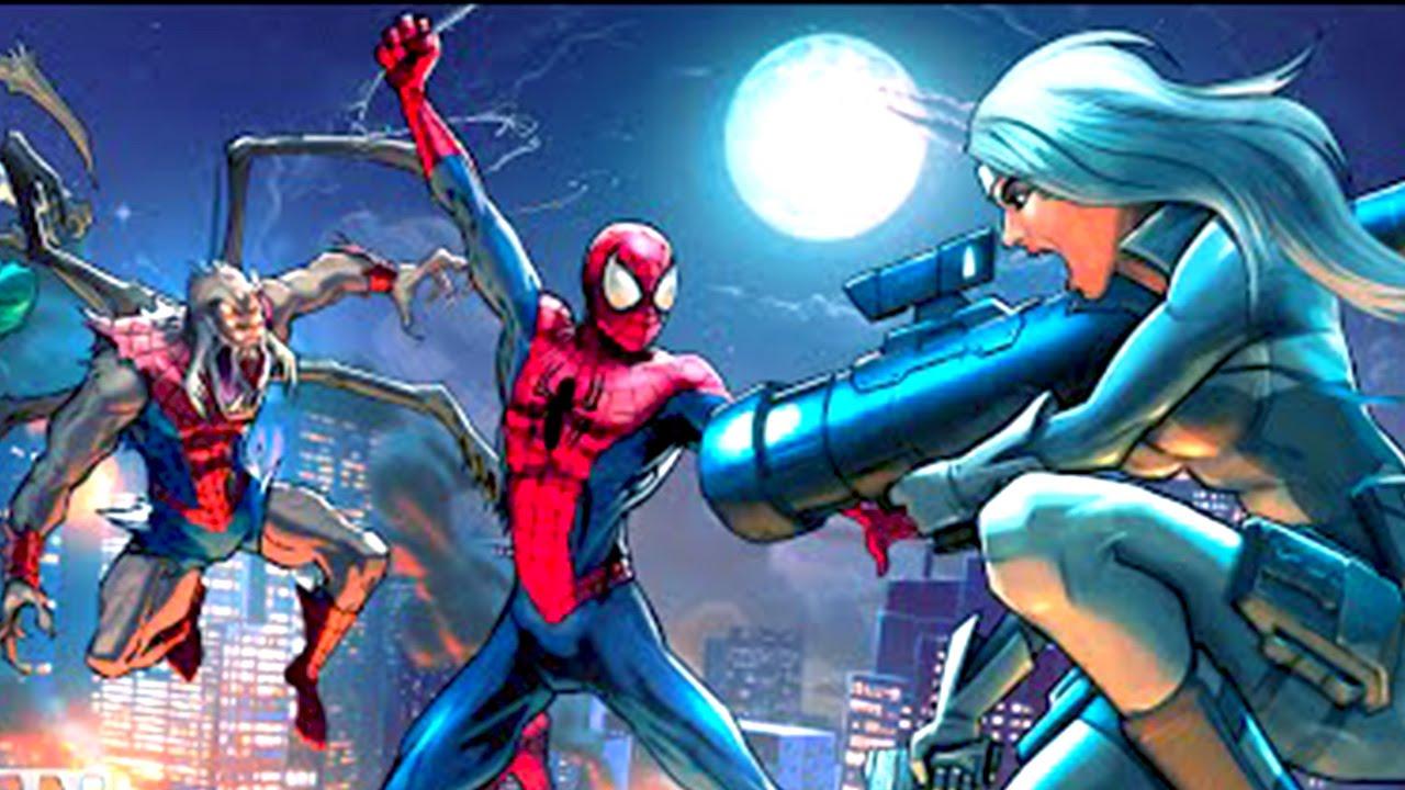 SPIDER MAN UNLIMITED – Monster Spiders vs Silver Sable Trailer #VideoJuegos #Consolas