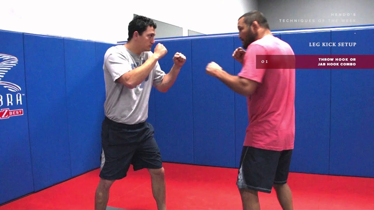 Dan Henderson MMA Techniques of the Week: Setting Up a Leg Kick
