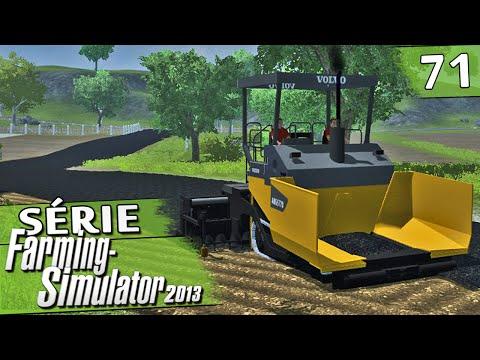 Farming Simulator 2013 - Asfaltando a Fazenda