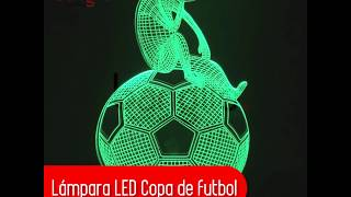 Lámpara LED Copa de futbol