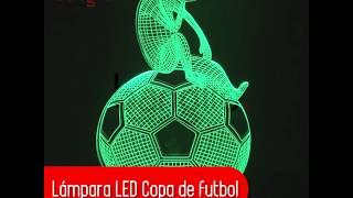 Lámpara LED Copa de futbol