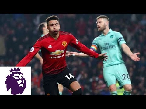 Arsenal, Man United Exchange Goals Within Two Minutes | Premier League | NBC Sports